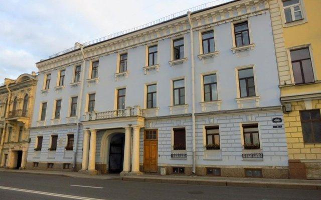 Апартаменты Apartments na Naberezhnoy Kutuzova вид на фасад