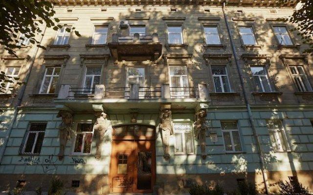 Гостиница Weekend in Lviv вид на фасад