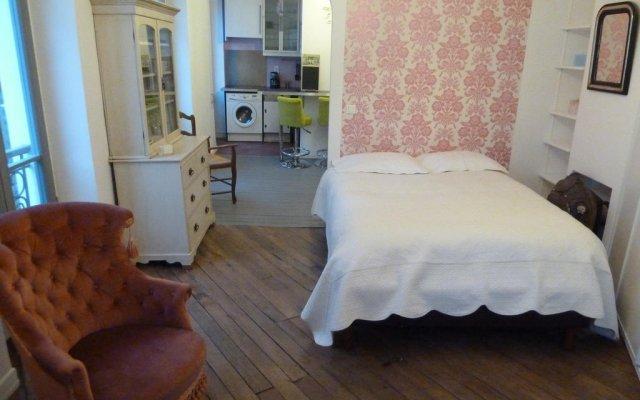 Отель Appart Montmartre Clignancourt Париж комната для гостей