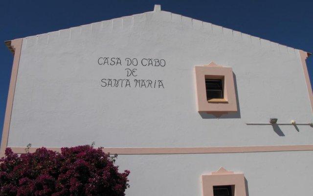Отель Casa do Cabo de Santa Maria вид на фасад