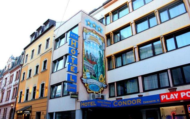 Hotel Condor Мюнхен вид на фасад