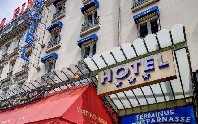 Отель Hôtel Terminus Montparnasse вид на фасад