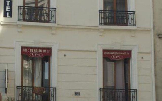 Отель LPL Hôtel вид на фасад