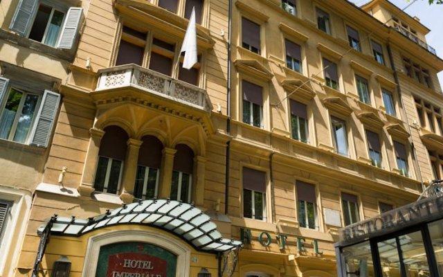 Отель Imperiale Италия, Рим - 4 отзыва об отеле, цены и фото номеров - забронировать отель Imperiale онлайн вид на фасад