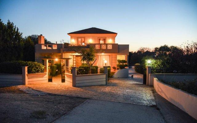 Отель Villa Rea Греция, Петалудес - отзывы, цены и фото номеров - забронировать отель Villa Rea онлайн вид на фасад