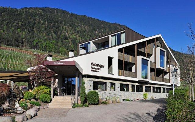 Отель Gasthof Kirchsteiger Горнолыжный курорт Ортлер парковка
