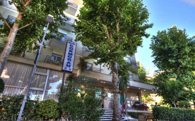 Отель Cormoran Италия, Риччоне - отзывы, цены и фото номеров - забронировать отель Cormoran онлайн вид на фасад
