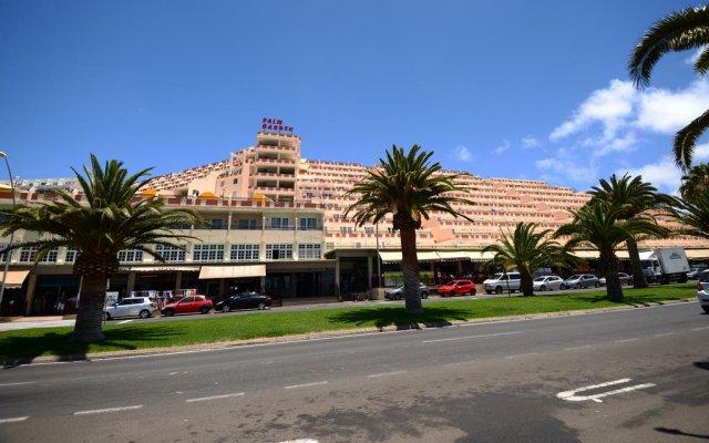 Отель Apartamentos Palm Garden вид на фасад