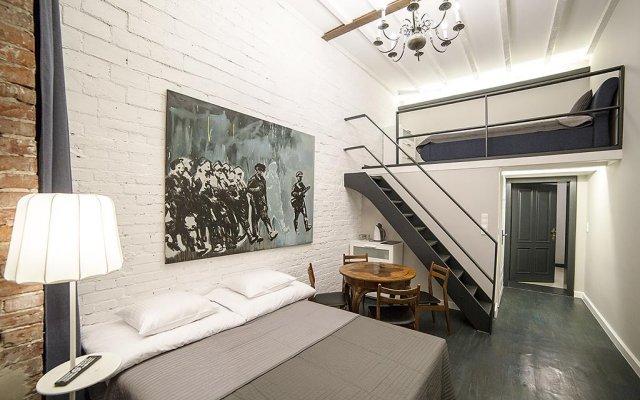 MoHo L Hostel комната для гостей