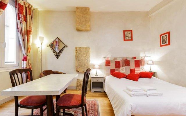 Отель Appartement Vertus комната для гостей