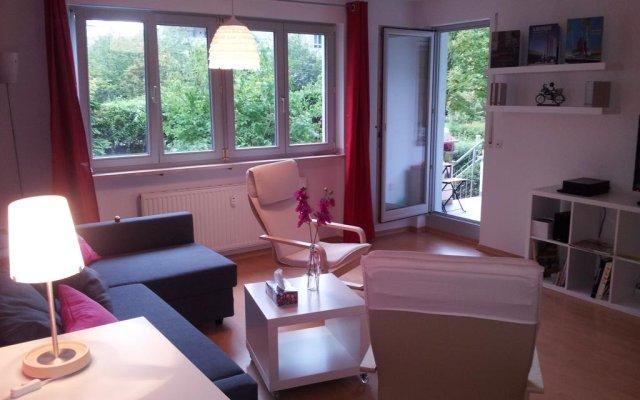 Отель Leipzig City Appartments комната для гостей