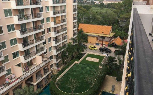 Отель Paradise Park By Vpg Паттайя балкон