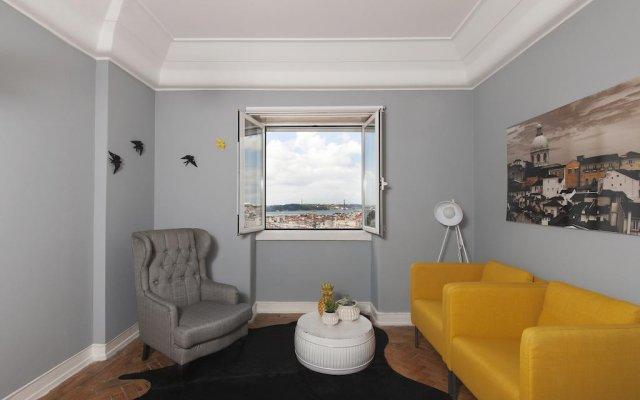 Отель Best View of Lisbon III @ Senhora do Monte, Graça, Alfama комната для гостей