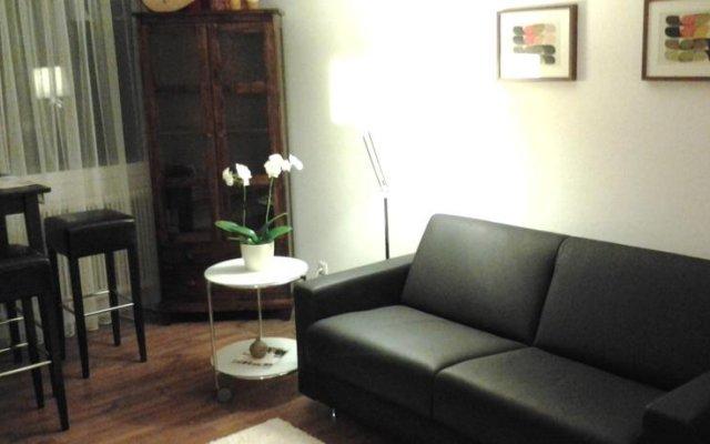 Апартаменты Serena Suites Serviced Apartments Зальцбург комната для гостей