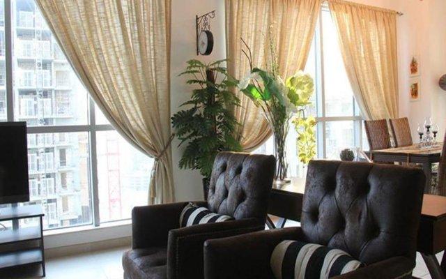 Апартаменты Dream Inn Dubai Apartments - Burj Residences Дубай комната для гостей