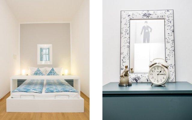 Апартаменты HeyMi Apartments Stephansdom Вена комната для гостей
