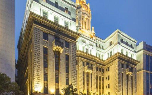 Jin Jiang Pacific Hotel Shanghai вид на фасад