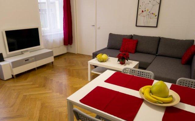 Отель Spittelberg Terrace by Welcome2vienna комната для гостей