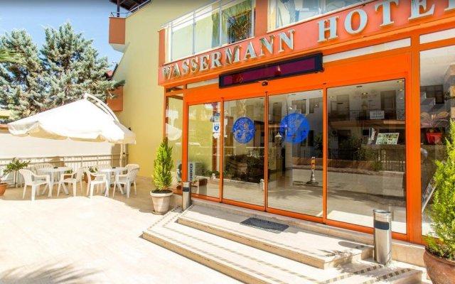Wassermann Hotel вид на фасад