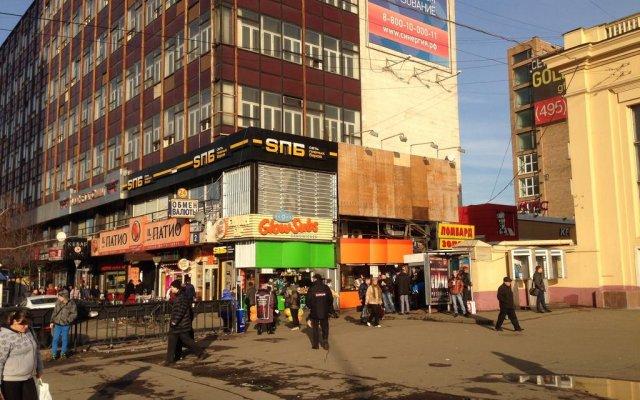 123 Hostel Москва вид на фасад