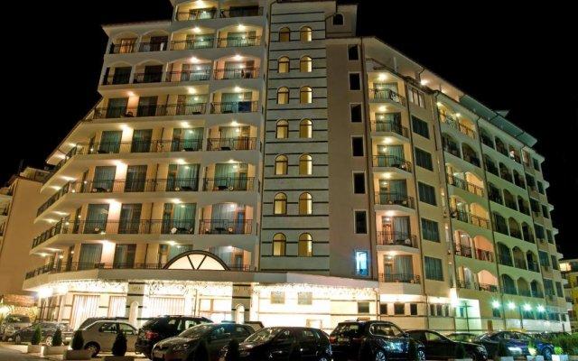Karolina Hotel Солнечный берег вид на фасад