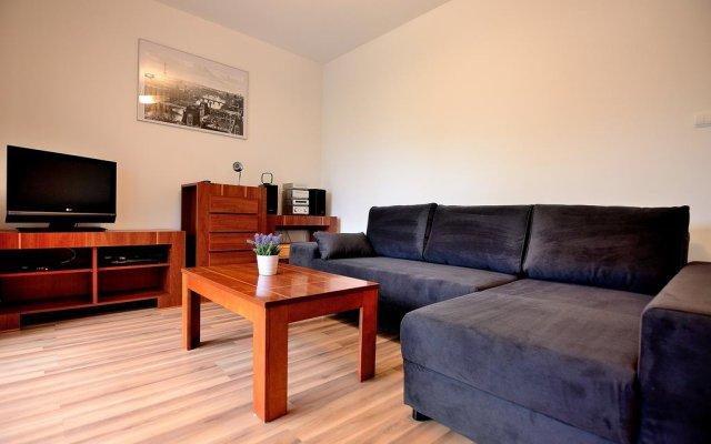 Отель Victus Apartament Petit Сопот комната для гостей