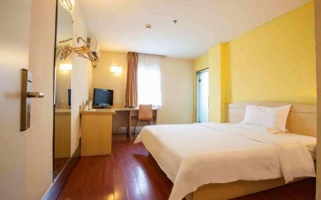 Отель 7Days Inn Zhengzhou Goverment Tongbo Road комната для гостей