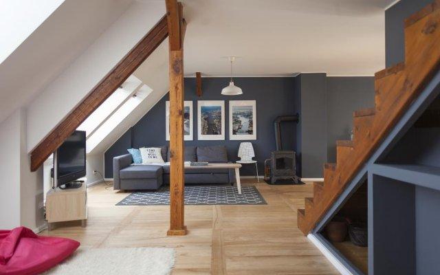 Апартаменты Sopot Apartment Сопот комната для гостей