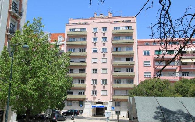 Отель Pensao Residencial Horizonte балкон