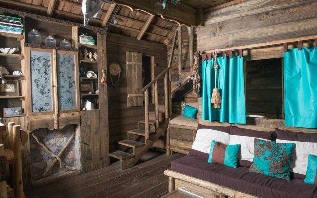 Отель Chalet de tahiti Французская Полинезия, Пунаауиа - отзывы, цены и фото номеров - забронировать отель Chalet de tahiti онлайн комната для гостей