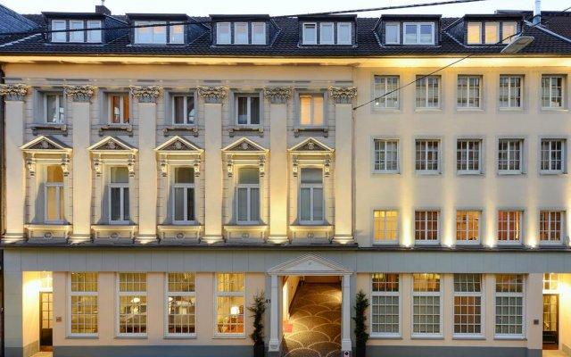 Отель Apartmenthaus Hohe Straße Дюссельдорф вид на фасад
