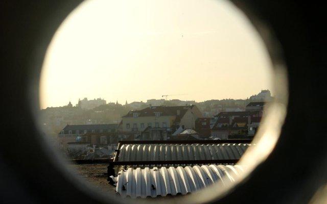 Отель Bairro Alto House Португалия, Лиссабон - отзывы, цены и фото номеров - забронировать отель Bairro Alto House онлайн балкон
