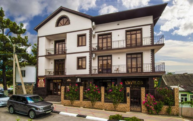 Гостиница Вавилон в Большом Геленджике 4 отзыва об отеле, цены и фото номеров - забронировать гостиницу Вавилон онлайн Большой Геленджик вид на фасад