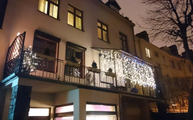Апартаменты Amber Apartments вид на фасад