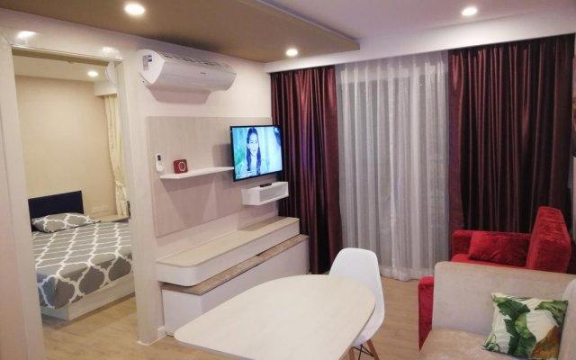 Отель Lovely Condo Паттайя комната для гостей