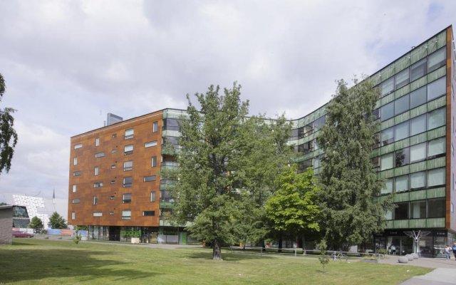 Апартаменты Tallinn Harbour Apartment вид на фасад