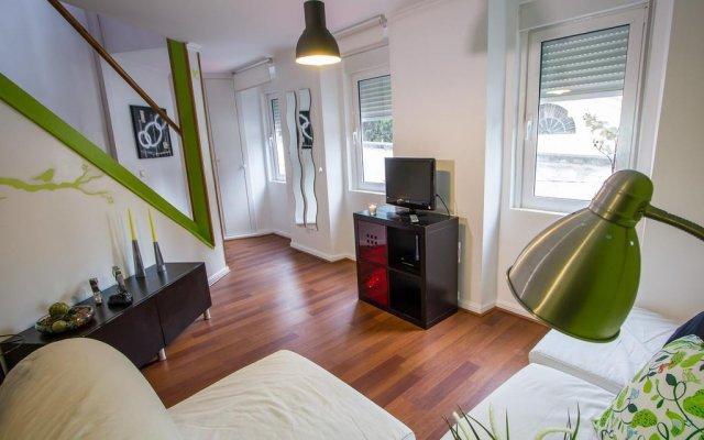 Отель Casa dos Prazeres - Campo de Ourique комната для гостей