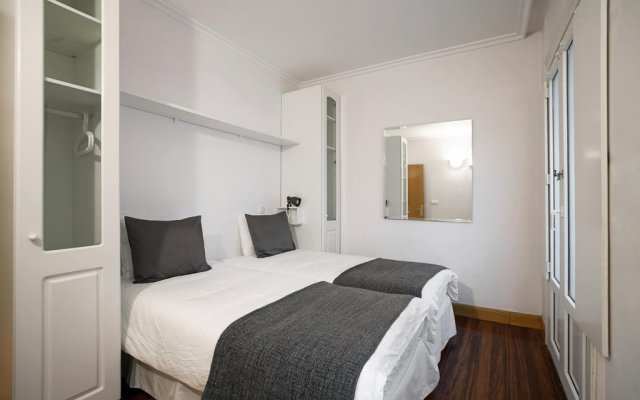 Отель SanSebastianForYou / San Telmo Apto комната для гостей