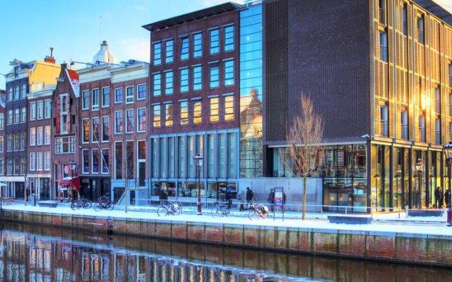Отель Ams Suites Нидерланды, Амстердам - отзывы, цены и фото номеров - забронировать отель Ams Suites онлайн вид на фасад