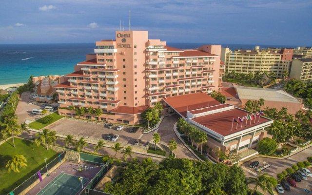 Отель Omni Cancun Hotel & Villas - Все включено Мексика, Канкун - 1 отзыв об отеле, цены и фото номеров - забронировать отель Omni Cancun Hotel & Villas - Все включено онлайн вид на фасад