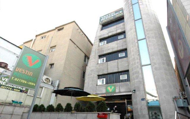 Отель Vestin Residence Myeongdong вид на фасад