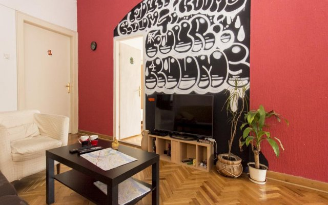 Hostel 4 Rooms комната для гостей