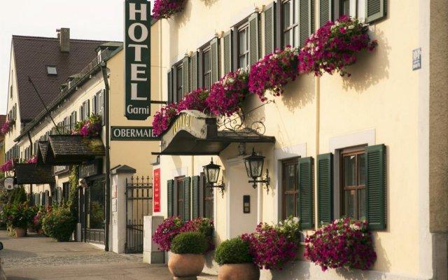 Hotel Obermaier вид на фасад
