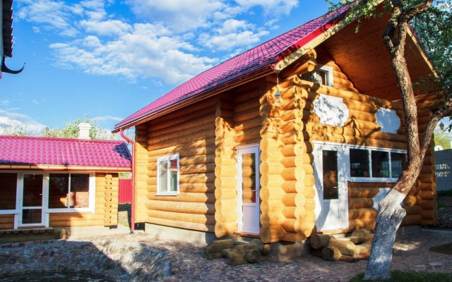 Гостиница Cottage in Vitebsk вид на фасад