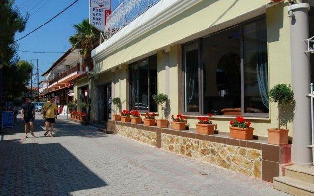 Отель Philoxenia Spa Hotel Греция, Пефкохори - отзывы, цены и фото номеров - забронировать отель Philoxenia Spa Hotel онлайн вид на фасад
