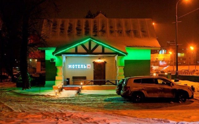 Гостиница Night Train Motel вид на фасад