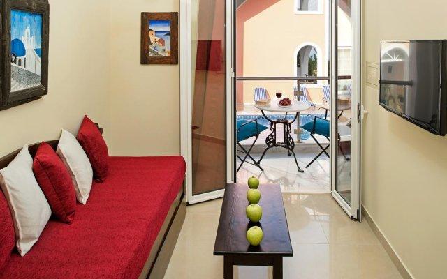 Отель Galatia Villas Греция, Остров Санторини - отзывы, цены и фото номеров - забронировать отель Galatia Villas онлайн комната для гостей