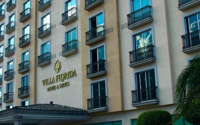 Hotel Villa Florida вид на фасад