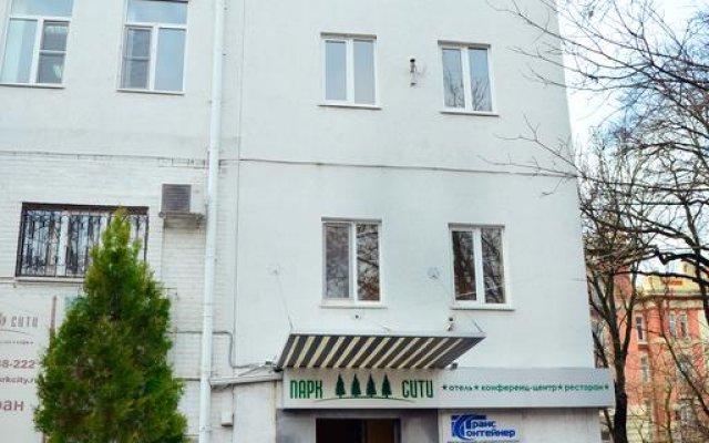 Гостиница Парк Сити вид на фасад