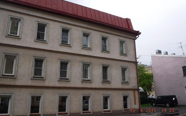 Гостиница Курская вид на фасад